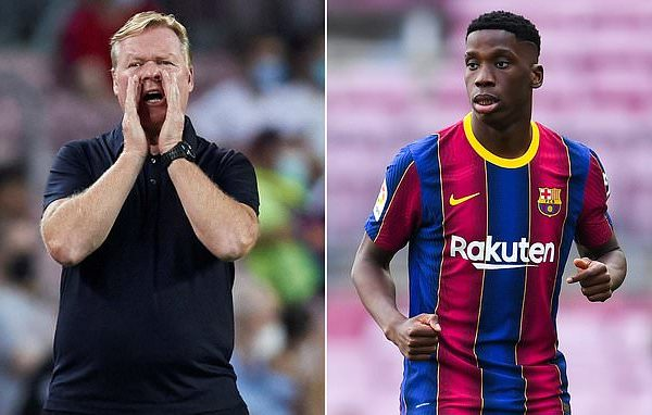 Koeman warns Moriba not to think money is the most important thing